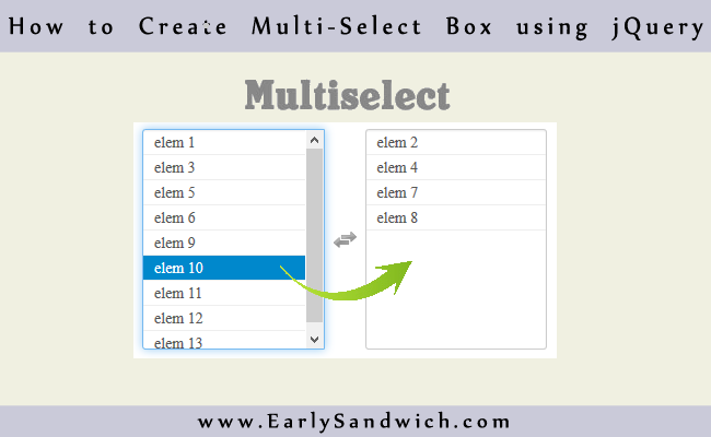 How to Select Multiple Items in Select Box Using jQuery