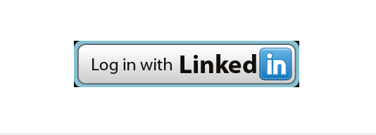 linkedin login button